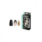 Royal 24 Glue-On Nail Tips - Jubilant Queen Coffin (6pcs) (NNAI270) (£1.23/each ) ROYAL 61B