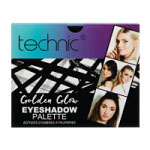 Technic Golden Glow Eyeshadow Palette (998225GLD) (Options) T/ XMAS-96