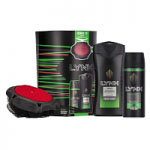 LYNX Africa Bodyspray, Bodywash and Manwasher Gift Set (2871)