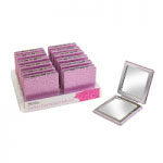 Royal Glitter Compact Mirror (12pcs) -  (OACC199) (£1.23/each)ROYAL 175A