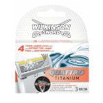 Wilkinson Sword Quattro Titanium Razor Blades (3 Blades) (9623)