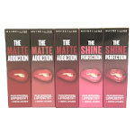 Maybelline The Matte/Shine Lip Kits (12pcs) (Assorted) (£2.25/each) R598
