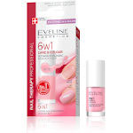 Eveline 6in1 Colour Nail Conditioner - Rose (3pcs) (7469) (£0.50/each)