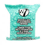 W7 Micellar Cleansing Wipes (12pcs) (MICW) (5893) (£0.62/each) A/18A