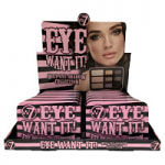 W7 Eye Want It! Eyeshadow Collection Palette (12pcs) (5496) (£2.13/each)