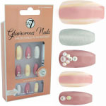 W7 Glamorous Nails - Little Memories (12pcs) (GNLM) (£1.85/Each) (8412) W7 NAILS 10