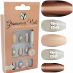 W7 Glamorous Nails - Golden Sahara (12pcs) (GNGS) (£1.85/Each) (8443) W7 NAILS 15