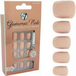 W7 Glamorous Nails - White Peach (12pcs) (GNWP) (£1.11/Each) (7934) W7 NAILS 17