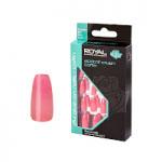 Royal 24 Glue-On Nail Tips - Apricot Crush Coffin (6pcs) (NNAI289) (£1.23/each) ROYAL 169