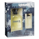 Submarine Operation X Gift Set (Mens 100ml EDT + Travel Atomzier 15ml) Real Time (0156)