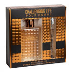 Challenging Life Gift Set (Mens 100ml EDT + Travel Atomzier 10ml) Real Time (FRRTS153) (0385)