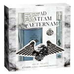 Ad Vitam Aeternam Gift Set (Mens 100ml EDT + Travel Atomzier 10ml) Real Time (0323) - DAMAGED BOX