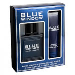 Blue Window Gift Set (Mens 100ml EDT + Shower Gel) Linn Young (0282)