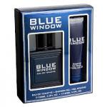 Blue Window Gift Set (Mens 100ml EDT + Shower Gel) Linn Young (0282) (FRLYSG143)