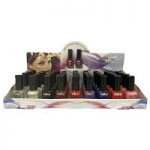 Saffron Gel Effect Nail Polish (36pcs) (1005) (Assorted) (£0.62/each)