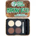 W7 Very Vegan Brow Eco Eyebrow Grooming Kit (0661)
