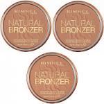 Rimmel Natural Bronzer Waterproof Bronzing Powder (12pcs) (Assorted) (£1.50/each) R393