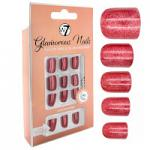 W7 Glamorous Nails - Ruby Slipper (12pcs) (GNRS) (£1.54/each) (3004) W7 NAILS 26