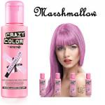 Crazy Color Semi Permanent Hair Color Cream 100ml - Marshmallow (4pcs) (£2.23/each) CC/3
