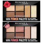 Rimmel Mini Power Eye, Lip & Cheek Palette - 6.8g (Options) R/421-422
