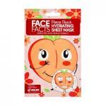 Face Facts Pretty Peach Hydrating Sheet Mask - 20ml (3506) (23490-150) FF/53a
