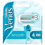 Gillette Venus Smooth 3 Blade Razor Refills (4 pack) (2709)