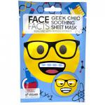 Face Facts Geek Chic Soothing Sheet Mask - 20ml (5937) (25920-150) FF/76a