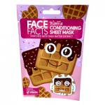 Face Facts Waffle Conditioning Sheet Mask - 20ml (4008) (23995-150) FF/75